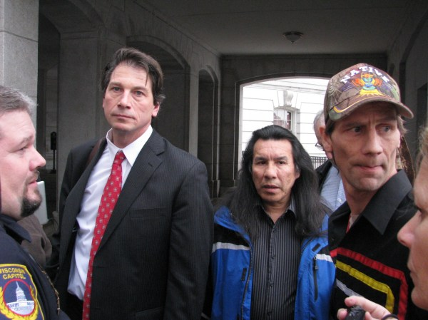Heartbeat of Red Cliff Band Arrested in Capitol ...