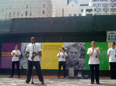 Global Voices Exhibit Launch