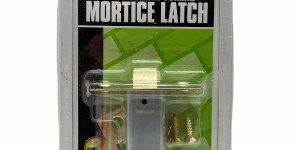 Electro Brassed Forend 75mm/3″ Mortice Latch 25583