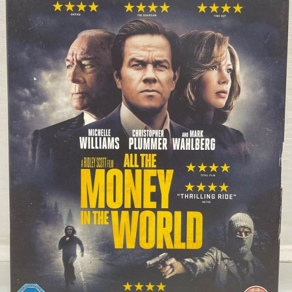 All The Money In The World Cert (15) Used VG Condition