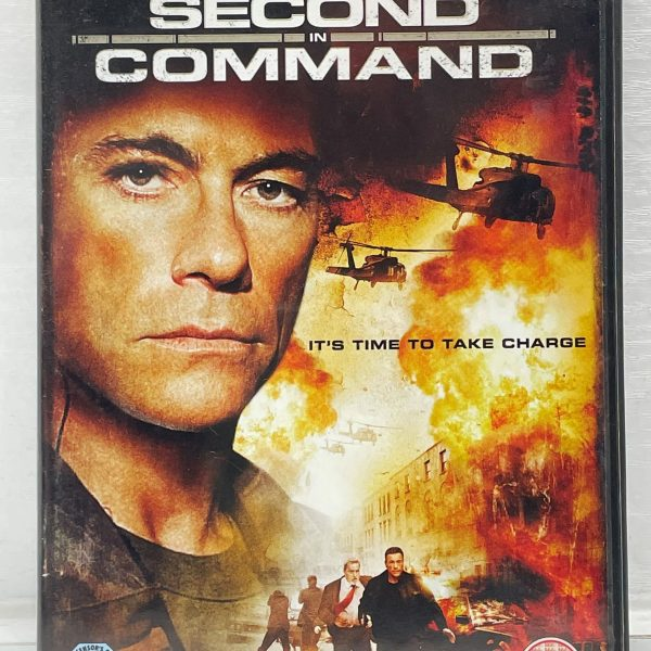 Second In Command Cert (15) Used VG Condition