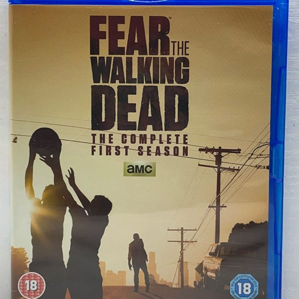 Fear The Walking Dead The Complete First Season Cert (18) Used VG Condition