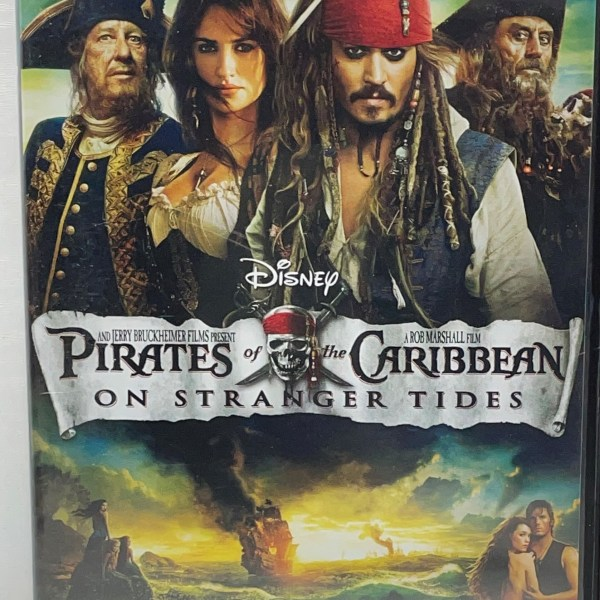 Pirates of The Caribbean On Stranger Tides Cert (12) Used VG Condition