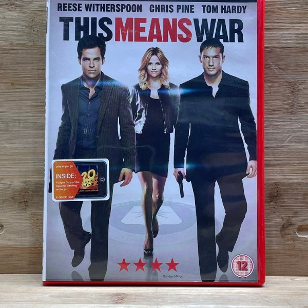This Means War Cert (12) Used VG