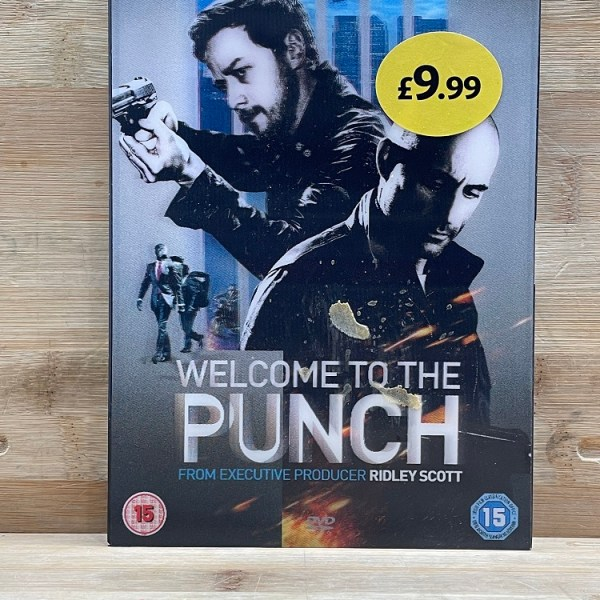 Welcome To The Punch Cert (15) Used VG