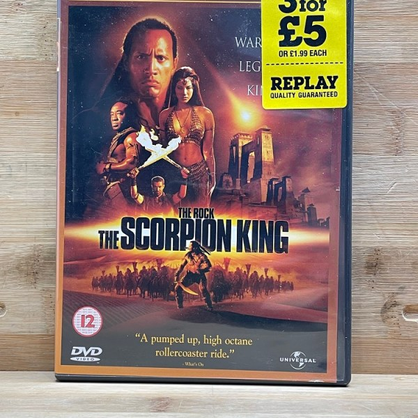 The Scorpion King Cert (12) Used VG