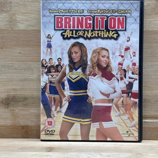 Bring It On All Or Nothing Cert (12) Used VG