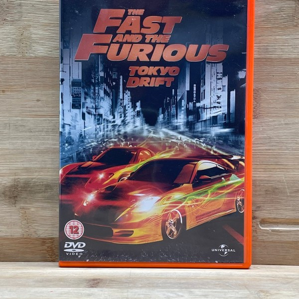 The Fast And The Furious Tokyo Drift Cert (12) Used VG