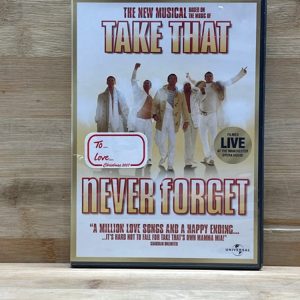 Take That Never Forget Cert (E) Used VG