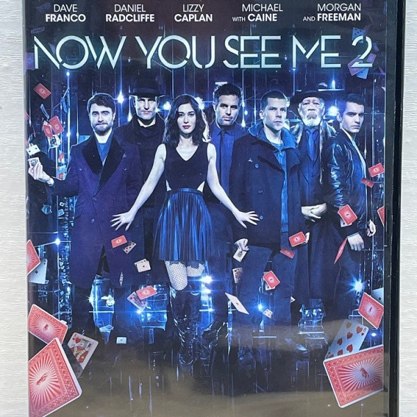 Now You See Me 2 Cert (12) Used VG