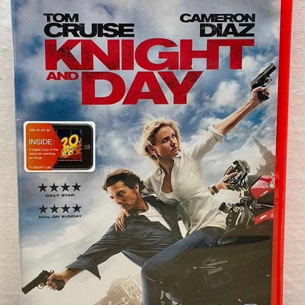 Knight And Day Cert (12) Used VG