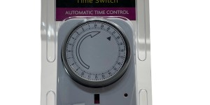 Infapower 24 Hour Programmable Time Switch Automatic Time Control X011
