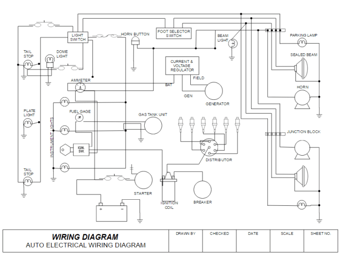 block diagram of house wiring  wire center •