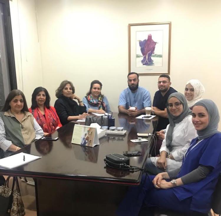 اجتماع أعضاء البرنامج الصحي وفريق الوقاية غاية التطوعي