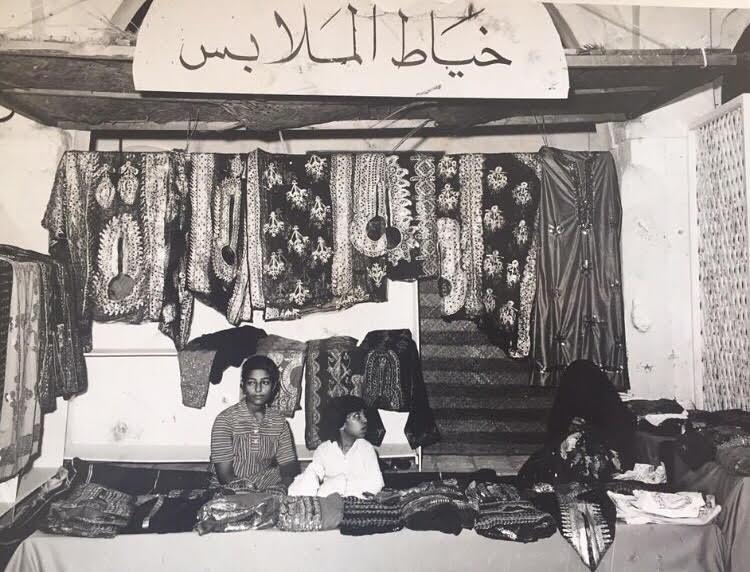 احدى الأسواق الخيرية لصالح قرية حنان في السودان