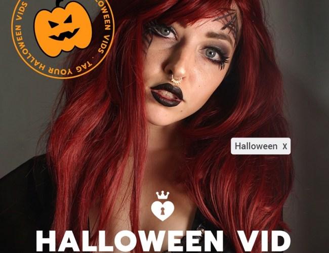 ManyVids Halloween Vid Contest: October 27-31, 2019