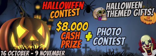 SoulCams Halloween Contest: Oct 16 – Nov 9, 2019