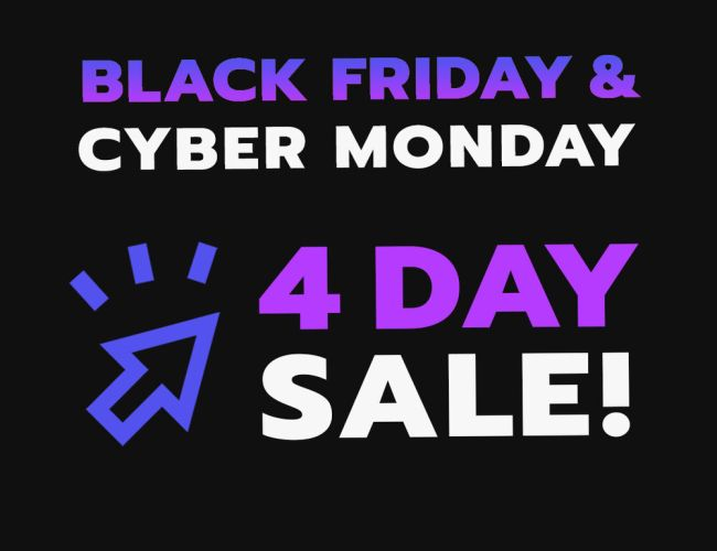 Manyvids Black Friday / Cyber Monday 2020 promotions