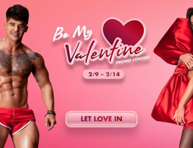 Flirt4Free Be My Valentine Contest & Promo (Feb. 9-14, 2021)