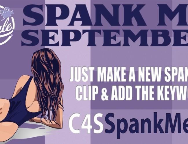 "Clips4Sale ""Spank Me"" Clip Promotion (September 2021)"