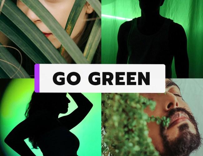 "Manyvids ""Go Green"" Winning Wednesday Contest (Sept. 22, 2021)"