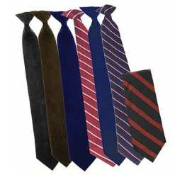 Professional Dress and Uniform Clip-on Tie