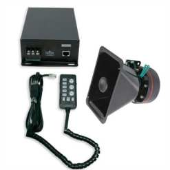 100W Speaker, Remote Controlled Siren and Megaphone Set