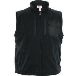 Sleeveless Fleece Jacket - Black