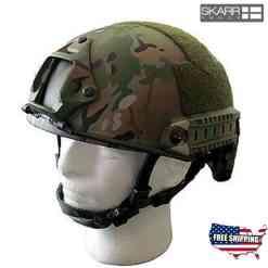 Skarr Armor NIJ iiia/V50 Helmet Camo