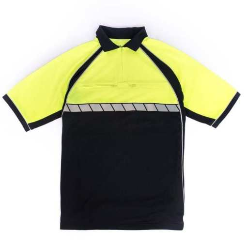 Blauer 8133 Colorblock Performance Polo Shirt
