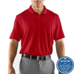 Under Armour Tac Range Polo Black or Red