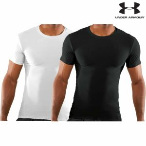 Black or White Under Armour Tactical HeatGear® Compression T-Shirt 1216007