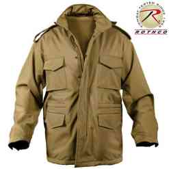 Rothco Soft Shell Tactical M-65 Field Jacket Coyote Brown 5246