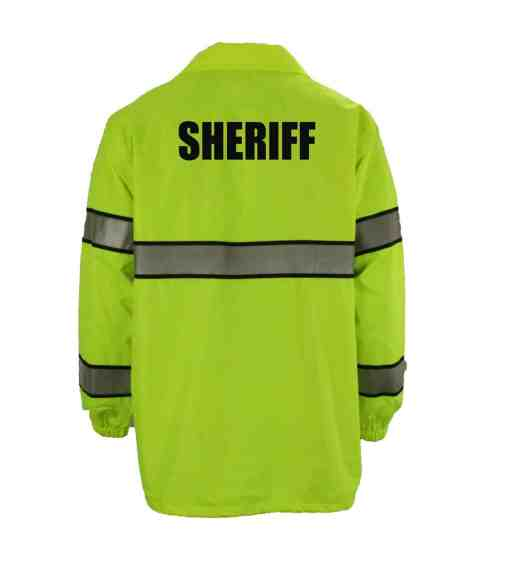 Sheriff First Class High Visibility Windbreaker