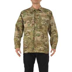 5.11 Multicam Tdu Shirt- Long Sleeve