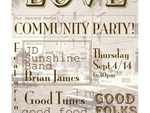 Spread the Love Community Party @ Winnipeg Centre Vineyard @ Flatlanders Green Space | Winnipeg | Manitoba | Canada