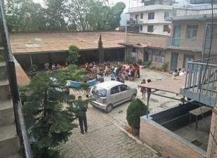 Kathmandu Vineyard courtyard