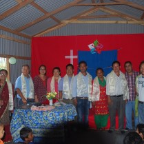 Some of the pastors and leaders