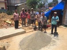 Construction at Chhampi