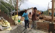 Construction in Chhampi