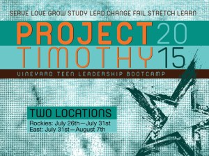 Project Timothy @ The Barn | Pennsylvania | United States