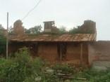 Crumbled home