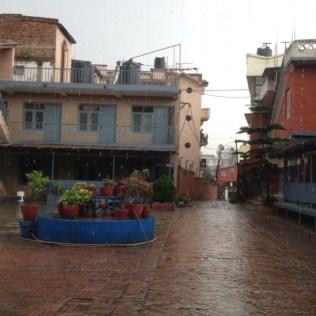 Kathmandu Courtyard - 1/2 of 2 storey residence on the left