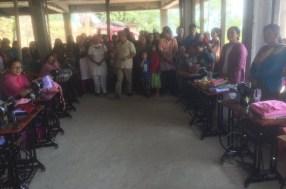 Graduating class in Sikkim