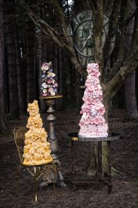 World Class Weddings choccywed11-199x300 Something New! Chocolate Sculpted Wedding Cakes