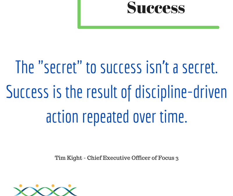 Secret to Success – Tim Kight