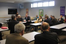 Discussion amongst representatives and workforce development leaders.