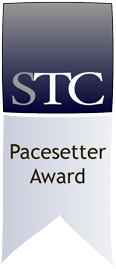 STC Pacesetter Award gray ribbon
