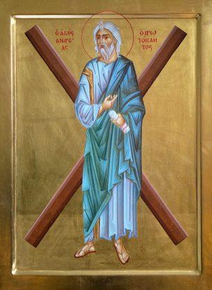 Ikona św. Andrzeja Apostoła