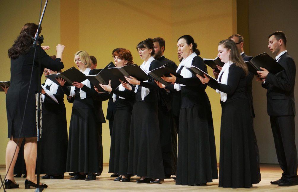 Chór Soboru Zmartwychwstania Pańskiego w Brześciu na Białorusi
